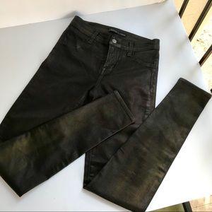J Brand Super Skinny Indigo Jeans